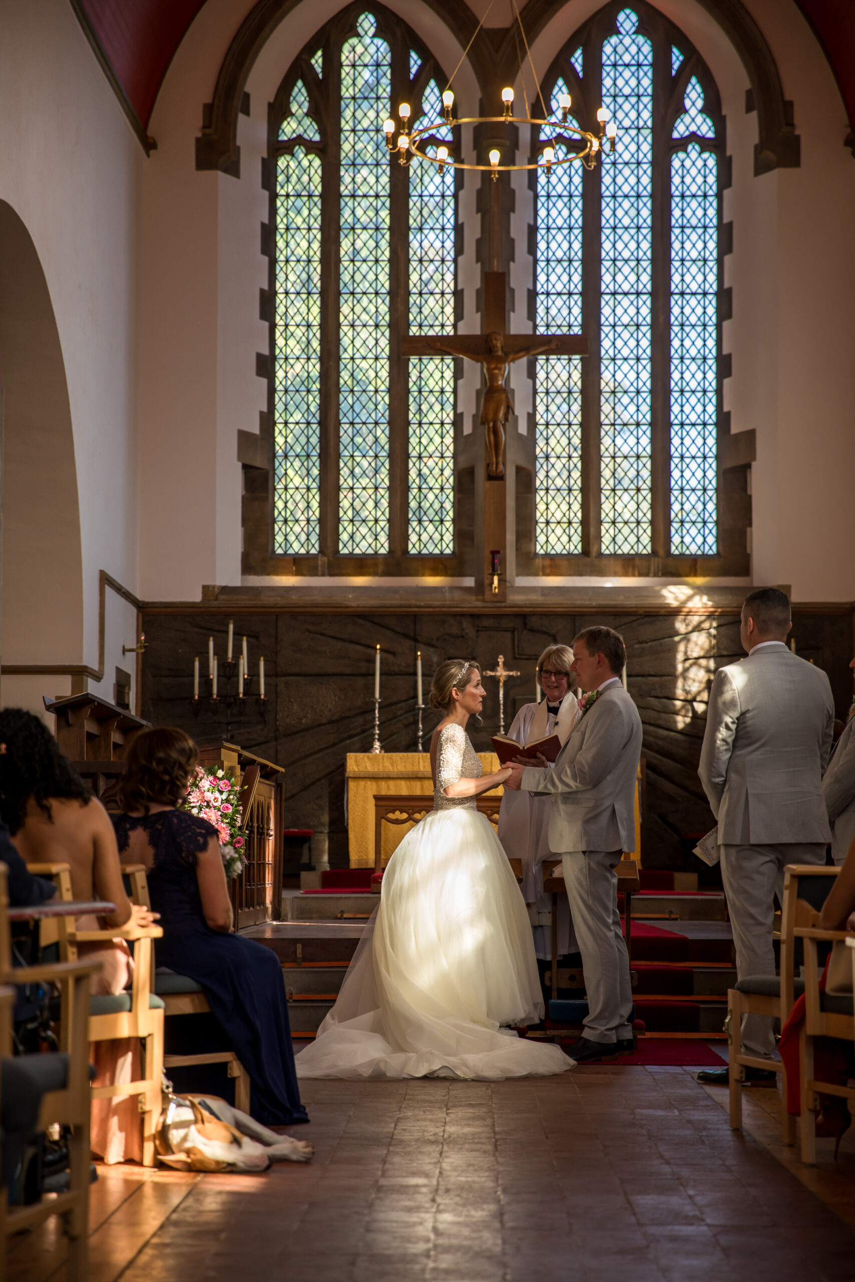 Hertfordshire church wedding