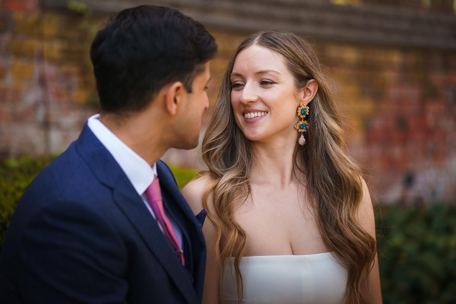 wedding couple St Albans Hertfordshire